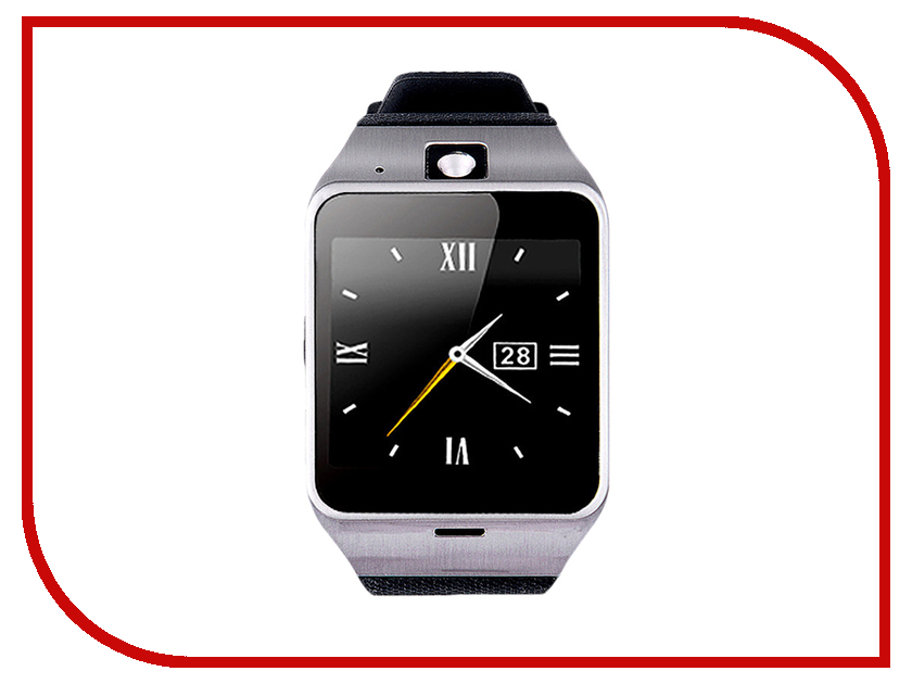 Умные часы ZDK GV18 Silver умные часы zdk f3 white orange