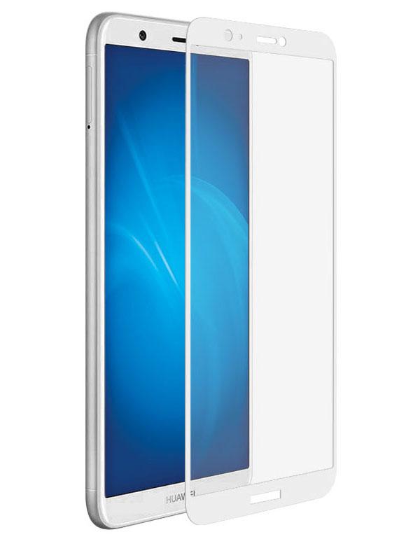 Аксессуар Защитное стекло Media Gadget для Huawei P Smart 2.5D Full Cover Glass White Frame MGFCGHH9LWT / MGFCHPSWT