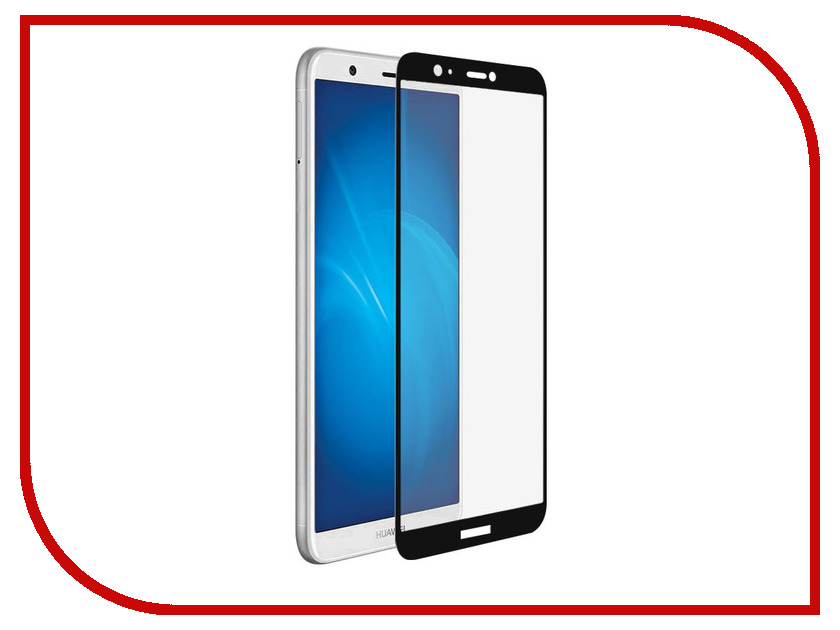 Аксессуар Защитное стекло для Huawei P Smart Media Gadget 2.5D Full Cover Glass Black Frame MGFCGHPSBK