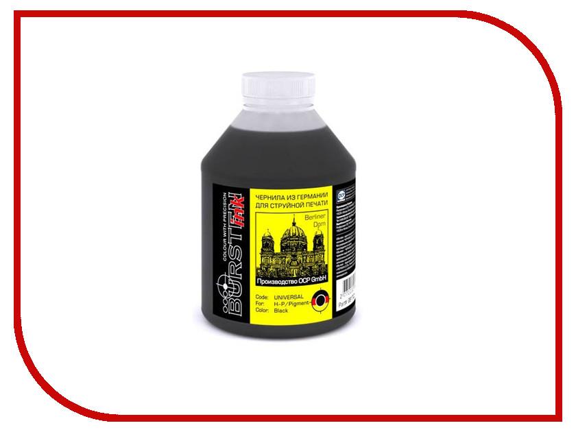 Чернила Bursten Black Pigment для картриджей HP 500g чернила bursten bk c m y для картриджей eps 500g х4