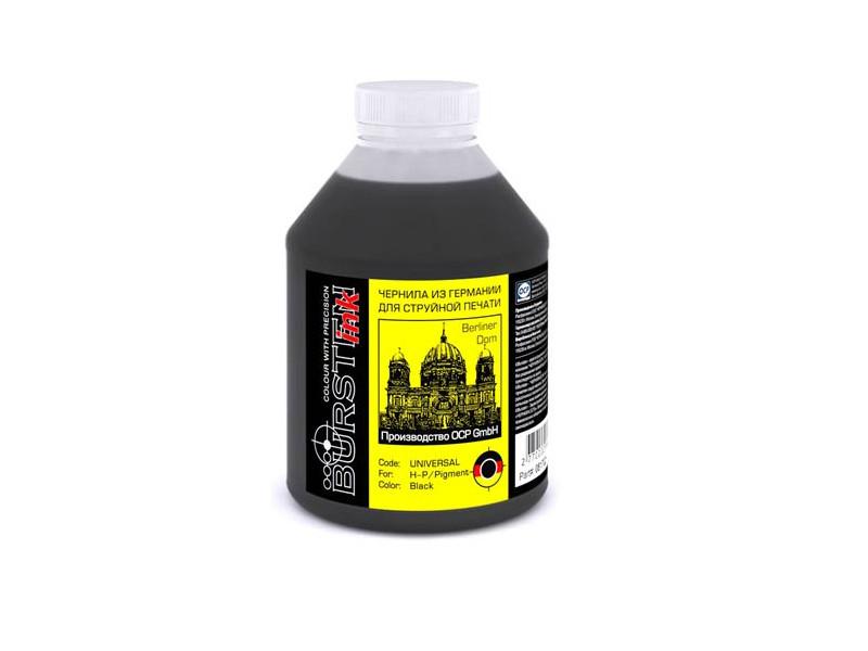 Чернила Bursten Black Pigment для картриджей HP 500g al 500g 25