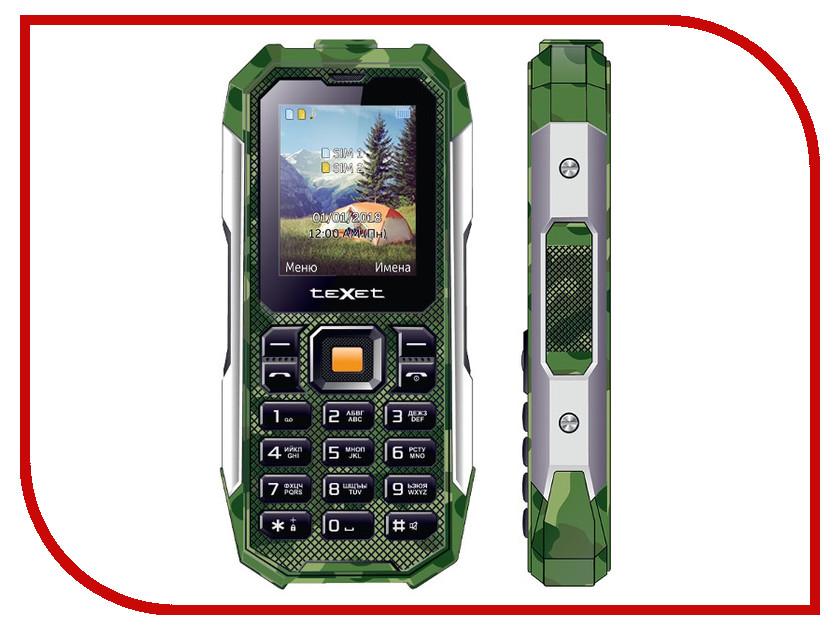 Сотовый телефон teXet TM-518R Green texet tm 224 grey
