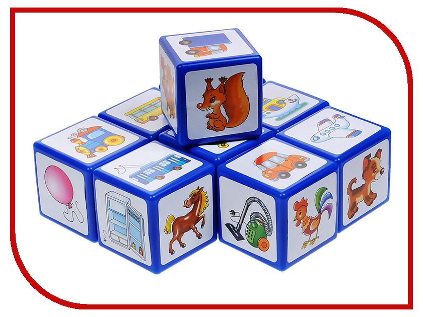 Кубики Десятое Королевство 9 шт.+ книжка 00266 десятое королевство десятое королевство кубики с картинками родные сказки 20 шт