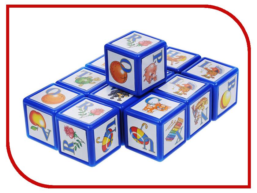 Кубики Десятое Королевство ABC. Английский алфавит 12 шт. 00352 десятое королевство десятое королевство кубики с картинками родные сказки 20 шт
