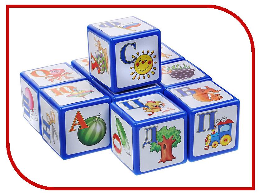 Кубики Десятое Королевство Алфавит 9 шт. 00265 десятое королевство десятое королевство кубики с картинками родные сказки 20 шт