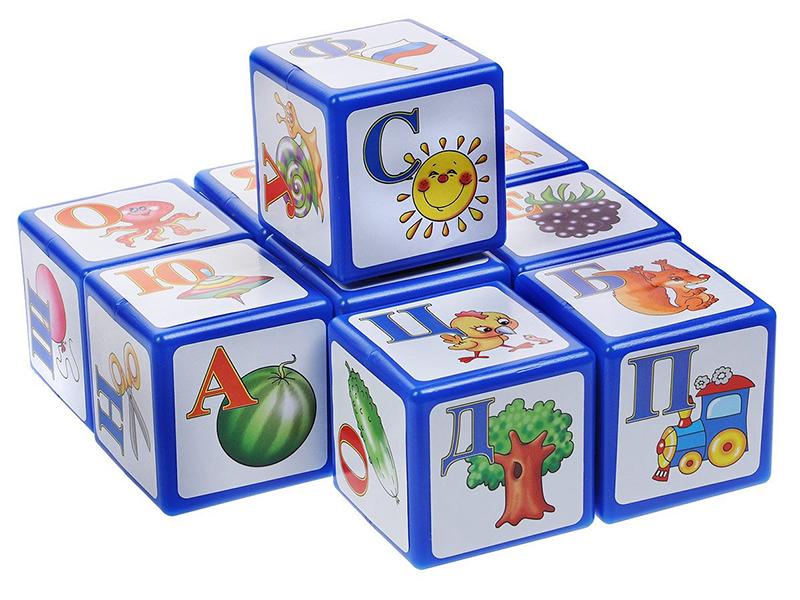 лучшая цена Кубики Десятое Королевство Алфавит 9 шт. 00265
