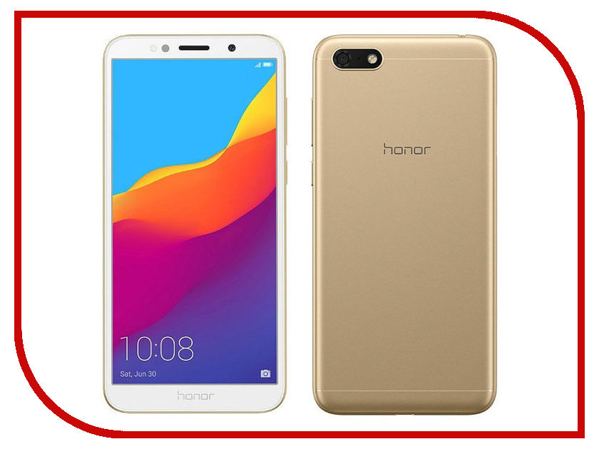 Сотовый телефон Honor 7A Gold сотовый телефон dexp ixion el450 force coffee