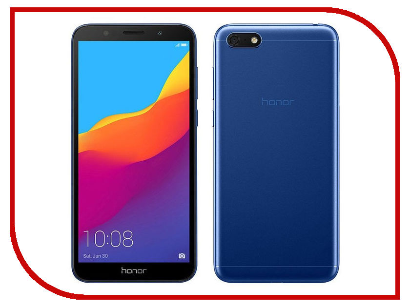 Сотовый телефон Honor 7A Blue сотовый телефон archos sense 55dc 503438