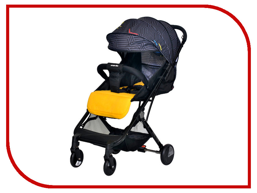 Фото - Коляска Everflo Baby Travel E-330 Yellow ПП100004235 коляска прогулочная everflo baby travel e 330 red