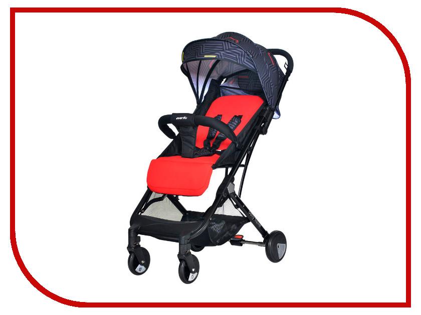 Фото - Коляска Everflo Baby Travel E-330 Red ПП100004236 коляска прогулочная everflo baby travel e 330 red