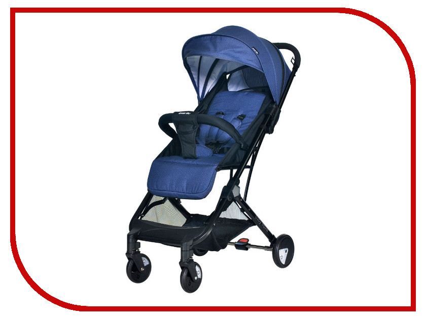 Фото - Коляска Everflo Baby Travel E-330 Jeans ПП100004237 коляска прогулочная everflo baby travel e 330 red