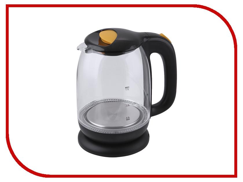 Чайник Kitfort KT-625-4 Yellow чайник kitfort kt 625 6 black