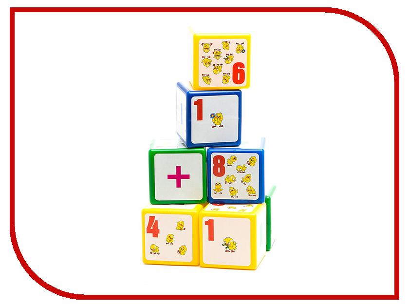 Кубики Десятое Королевство Выдувка. Арифметика. Цыплят в 3 года мы считаем 00268