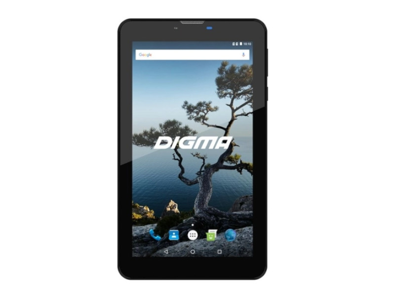 Планшет Digma Plane 7556 3G Black (MediaTek MT8321 1.3 GHz/1024Mb/16Gb/3G/Wi-Fi/GPS/Cam/7.0/1024x600/Android) цена в Москве и Питере