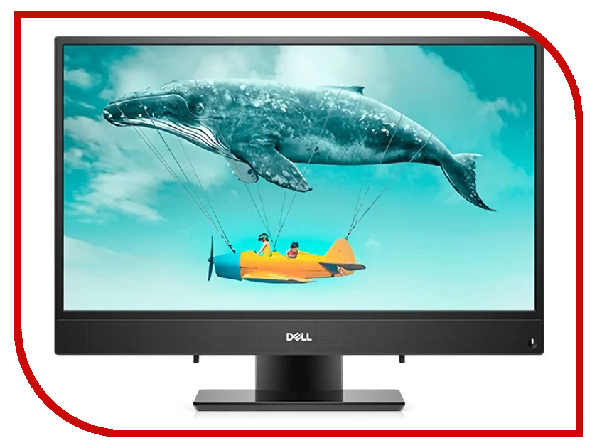 Моноблок Dell Inspiron 3477 Black 3477-2433 (Intel Core i3-7130U 2.7 GHz/4096Mb/1000Gb/Intel HD Graphics/LAN/Wi-Fi/Bluetooth/23.8/1920x1080/Linux) моноблок lenovo ideacentre aio 520 22iku ms silver f0d5000srk intel core i5 7200u 2 5 ghz 4096mb 1000gb dvd rw intel hd graphics wi fi bluetooth cam 21 5 1920x1080 dos