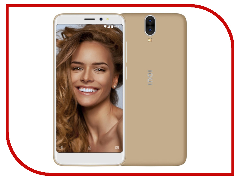 Фото Сотовый телефон Inoi 6 Lite Gold сотовый телефон archos sense 55dc 503438