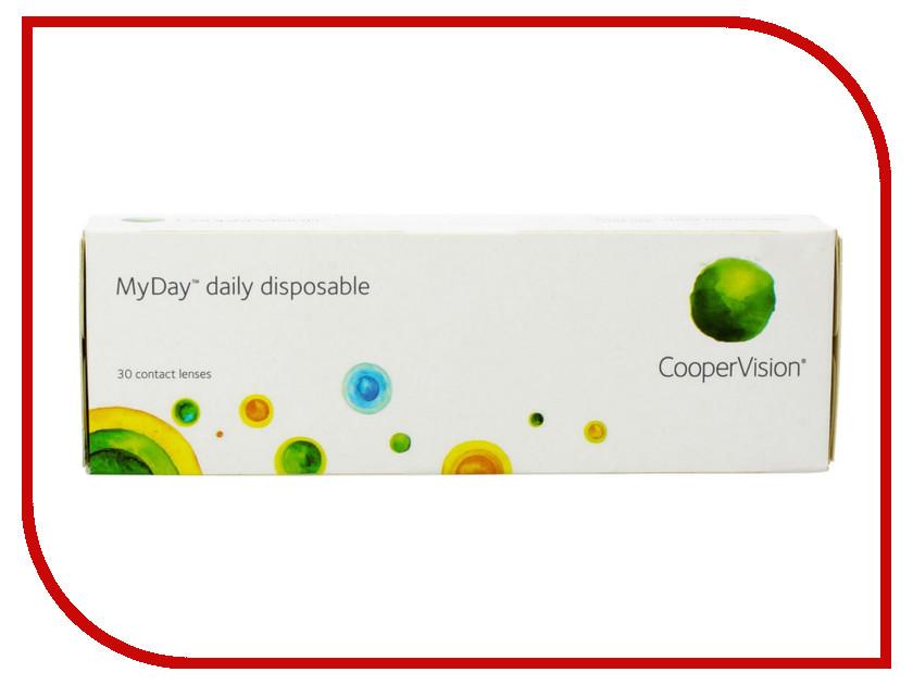 Контактные линзы CooperVision MyDay Daily Disposable (30 линз / 8.4 / -4)