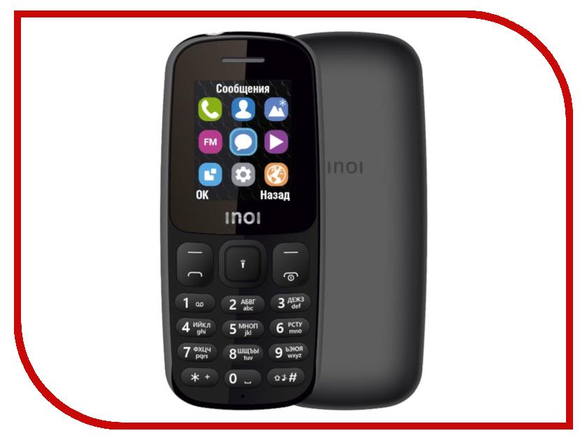 Фото - Сотовый телефон Inoi 101 Black проводной и dect телефон foreign products vtech ds6671 3