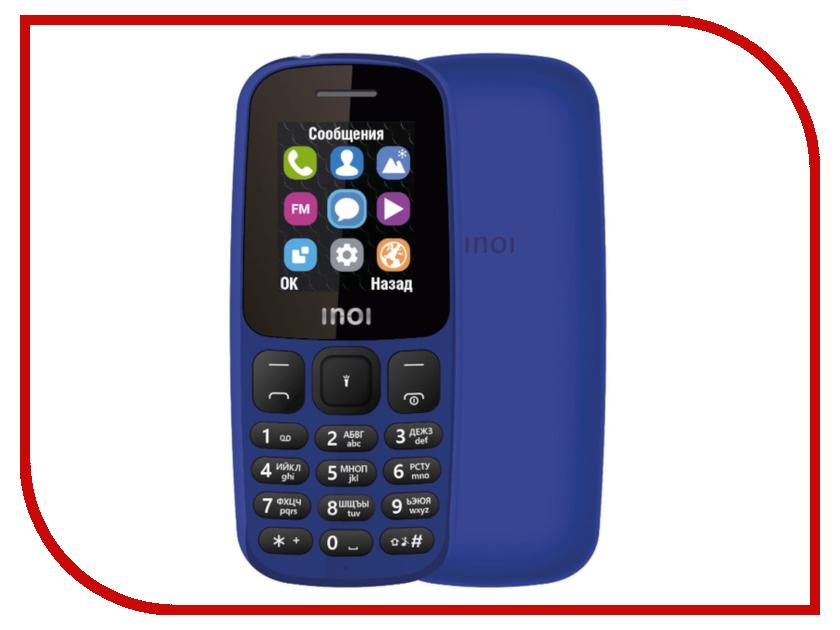 Фото - Сотовый телефон Inoi 101 Blue проводной и dect телефон foreign products vtech ds6671 3