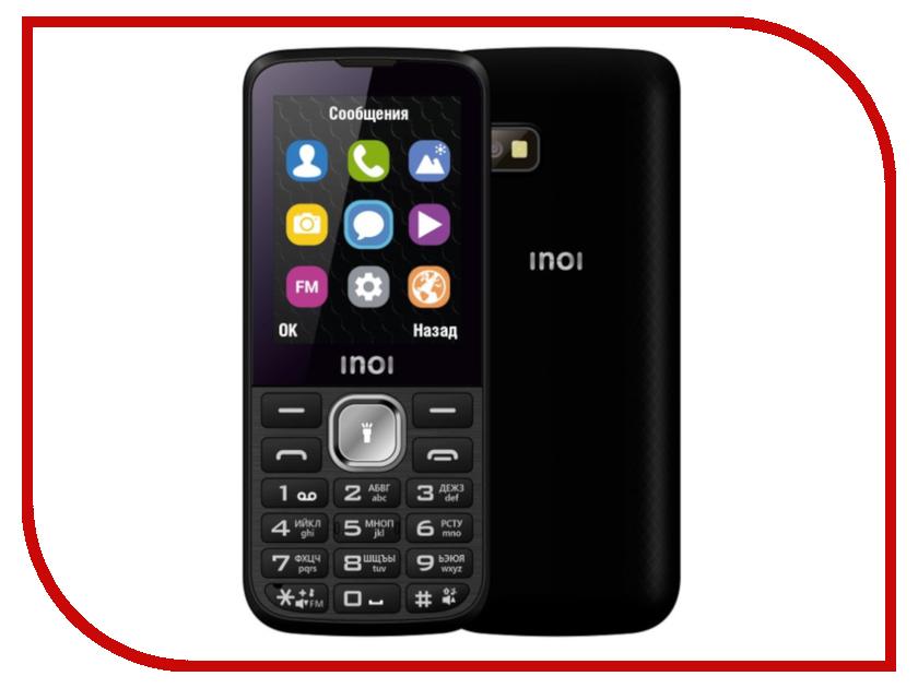 Сотовый телефон Inoi 240 Black сотовый