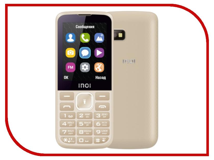 Сотовый телефон Inoi 240 Gold сотовый телефон jinga iron gold