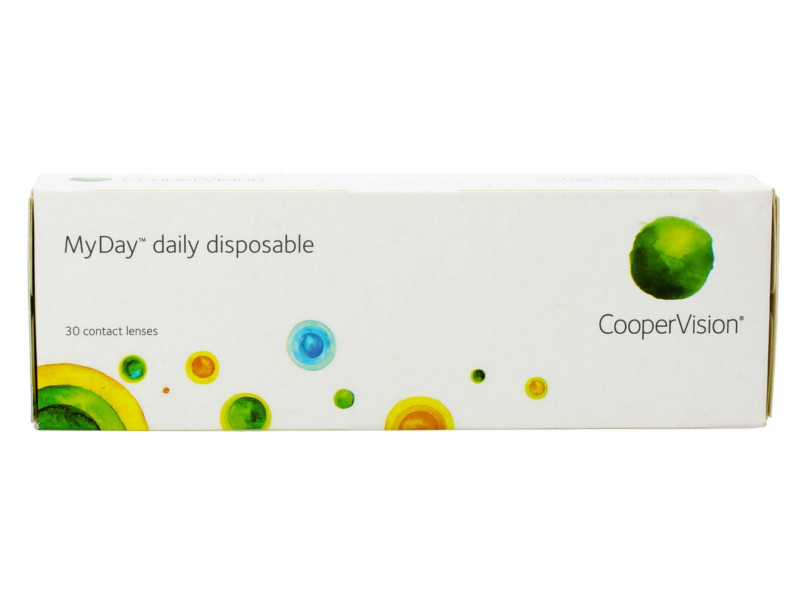 Контактные линзы CooperVision MyDay Daily Disposable (30 линз / 8.4 -5)
