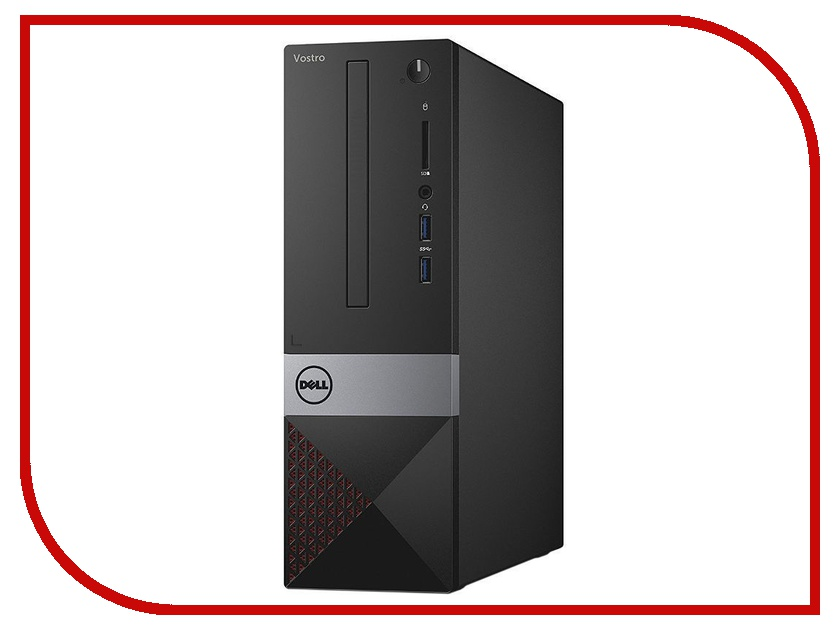 Настольный компьютер Dell Vostro 3267 SFF Black 3267-2769 (Intel Core i3-6100 3.7 GHz/4096Mb/1000Gb/DVD-RW/Intel HD Graphics/LAN/Windows 10 Pro 64-bit) gusti gsb 3267
