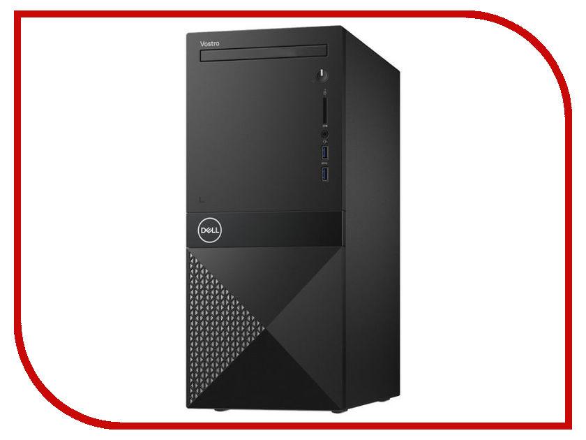 Настольный компьютер Dell Vostro 3670 MT Black 3670-3179 (Intel Core i5-8400 2.8 GHz/8192Mb/1000Gb/DVD-RW/nVidia GeForce GT 710 2048Mb/LAN/Wi-Fi/Linux) ноутбук dell vostro 3568
