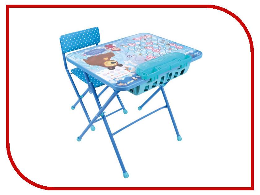 Игра Nika Маша и медведь. Азбука 4 КУ2П/18 детский столик nika ку2п 11 первоклашка осень