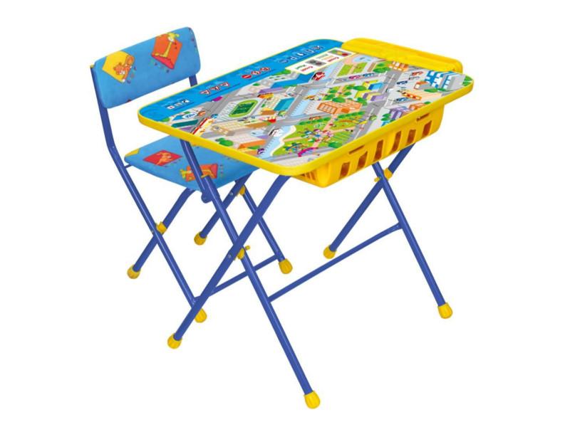 Набор детской мебели Nika Правила дорожного движения КУ2П/14