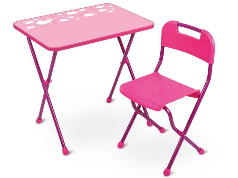 Набор детской мебели Nika Алина Pink КА2/Р