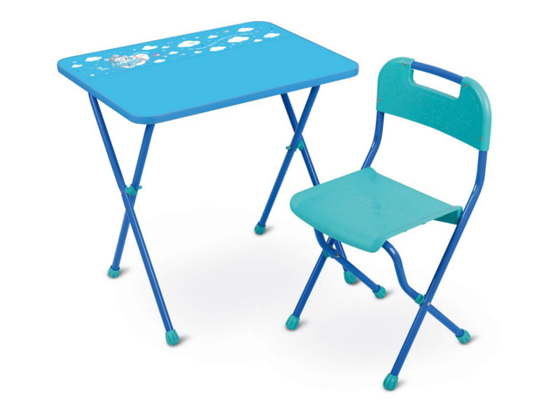 Набор детской мебели Nika Алина Light Blue КА2/Г