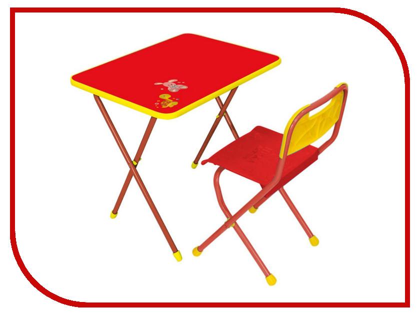 Набор детской мебели Nika Алина Red КА1 игра nika алина pink ка2 р