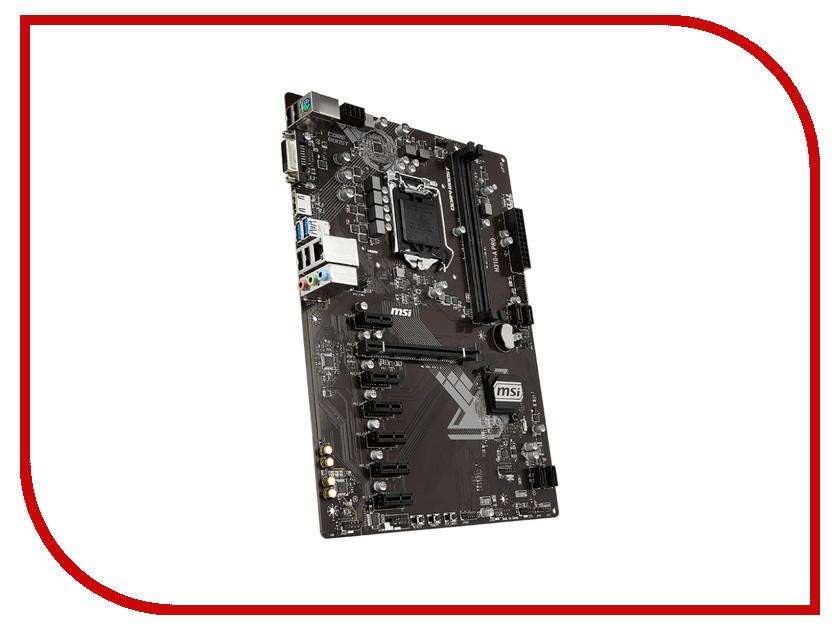 Материнская плата MSI H310-A PRO msi original zh77a g43 motherboard ddr3 lga 1155 for i3 i5 i7 cpu 32gb usb3 0 sata3 h77 motherboard