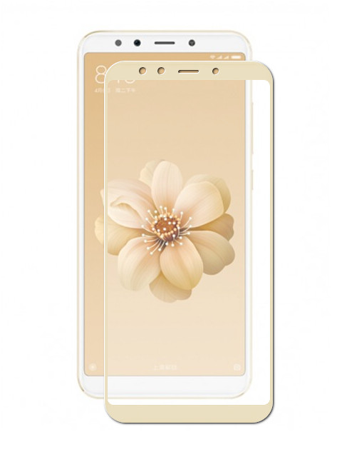 Аксессуар Защитное стекло Zibelino для Xiaomi Mi A2 / Mi6X TG Full Screen 0.33mm 2.5D Gold ZTG-FS-XMI-Mi6X-GLD аксессуар защитное стекло samsung galaxy a3 2017 a320f zibelino tg full screen 0 33mm 2 5d gold ztg fs sam a320f gld