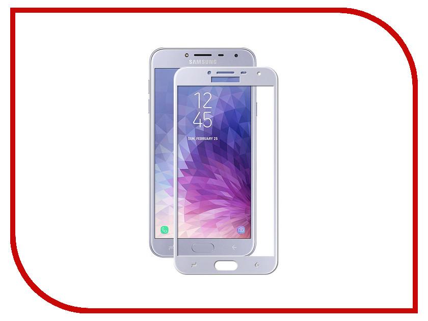 Аксессуар Защитное стекло для Samsung Galaxy J4 2018 J400F Zibelino TG Full Screen 0.33mm 2.5D Blue ZTG-FS-SAM-J400-BLU