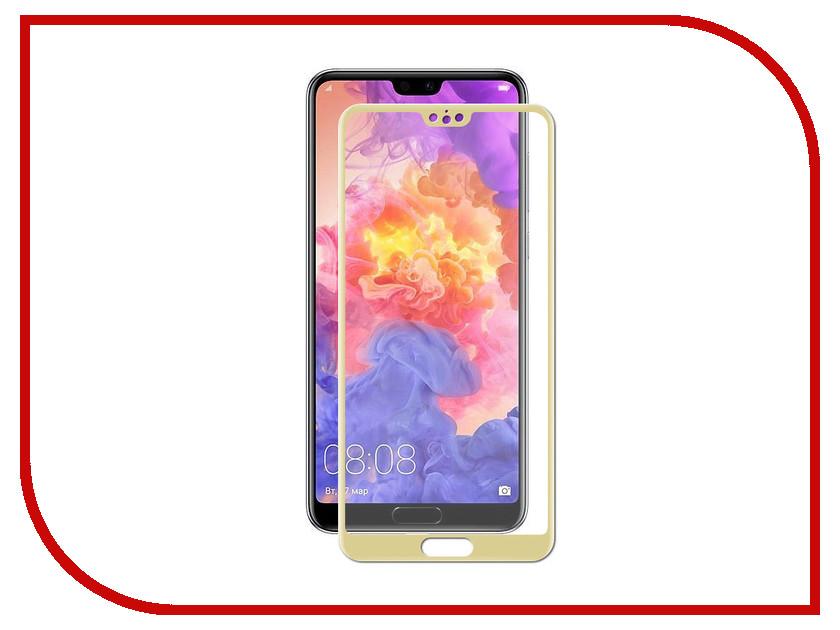 Аксессуар Защитное стекло для Huawei P20 Pro Zibelino TG Full Screen 0.33mm 2.5D Gold ZTG-FS-HUA-P20PR-GLD аксессуар защитное стекло meizu pro 7 zibelino tg full screen 0 33mm 2 5d gold ztg fs mei pro7 gld