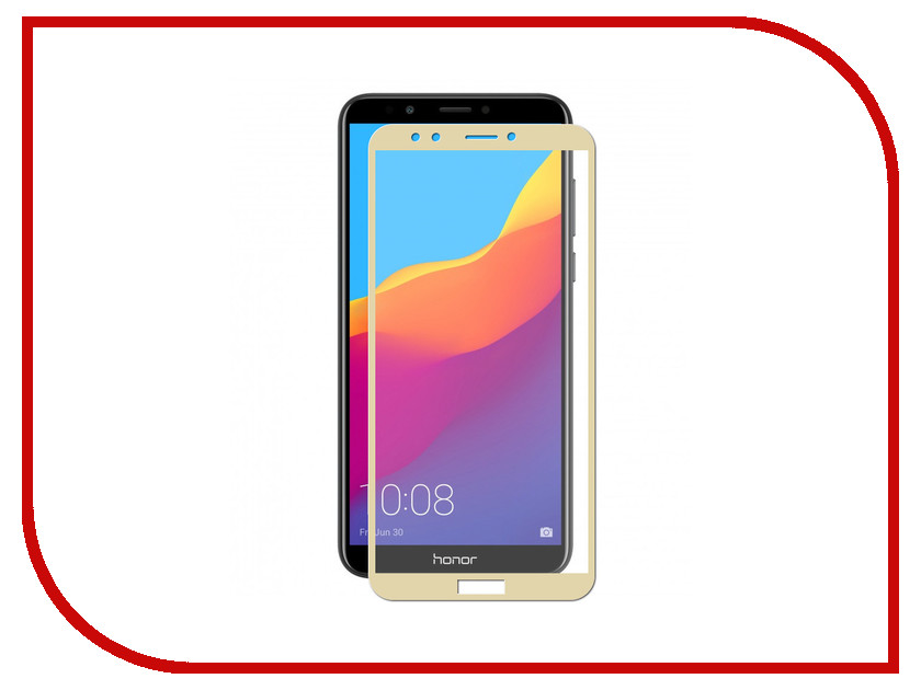 Аксессуар Защитное стекло для Huawei Honor 7C Pro Zibelino TG Full Screen 0.33mm 2.5D Gold ZTG-FS-HUA-7CPRO-GLD аксессуар защитное стекло для xiaomi redmi note 6 2018 zibelino tg full screen white ztg fs xmi not6 wht