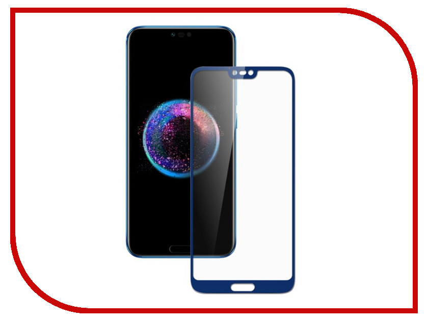 Аксессуар Защитное стекло для Huawei Honor 10 Zibelino TG Full Screen 0.33mm 2.5D Dark Blue ZTG-FS-HUA-H10-DBLU аксессуар защитное стекло для huawei honor 7x zibelino tg full screen white 0 33mm 2 5d ztg fs hua hon7x wht