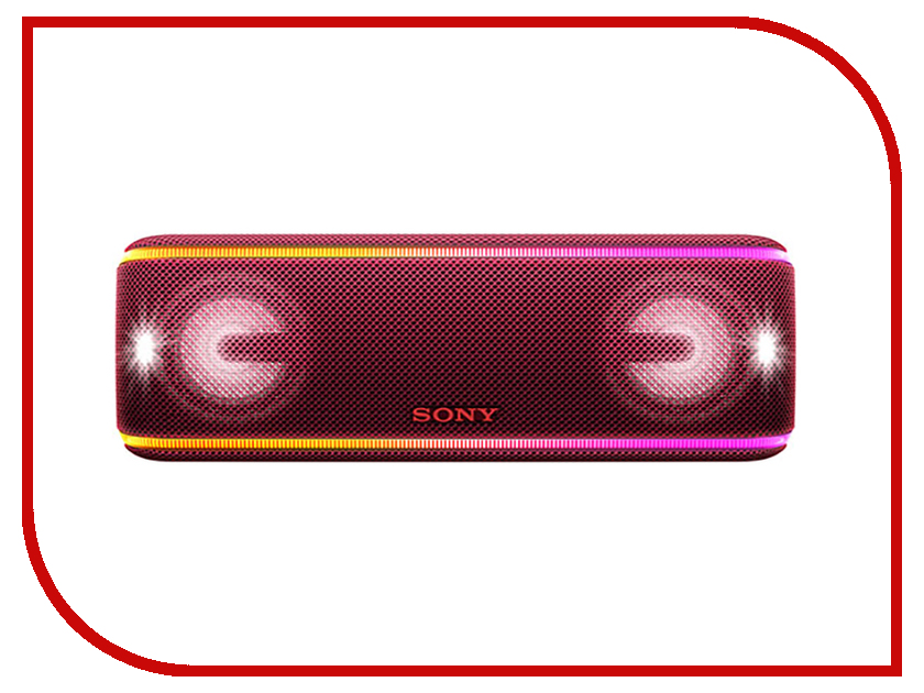 Колонка Sony SRS-XB41 Red