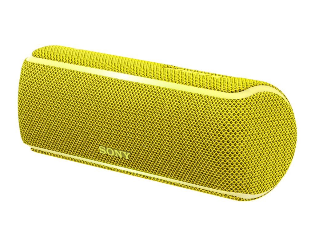 цена Колонка Sony SRS-XB21 Yellow онлайн в 2017 году