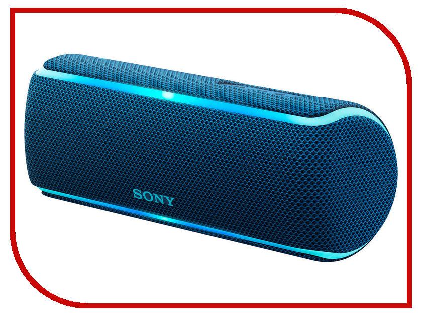 Колонка Sony SRS-XB21 Blue sony sony srs x11 белый