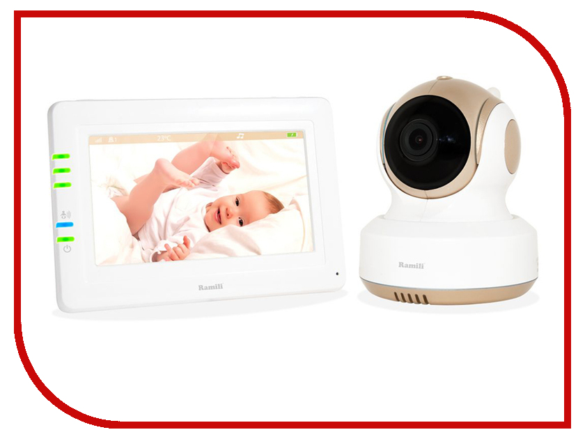 Видеоняня Ramili Baby RV1000 видеоняня ramili ramili видеоняня baby rv1200sp с монитором дыхания
