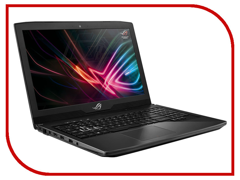 Ноутбук ASUS ROG GL503GE-EN174 Aluminum Black 90NR0082-M04820 (Intel Core i5-8300H 2.3 GHz/8192Mb/1000Gb + 128Gb SSD/No ODD/nVidia GeForce GTX 1050 Ti 4096Mb/Wi-Fi/Cam/15.6/1920x1080/Endless) ноутбук asus rog gl503ge en065t 90nr0082 m00860