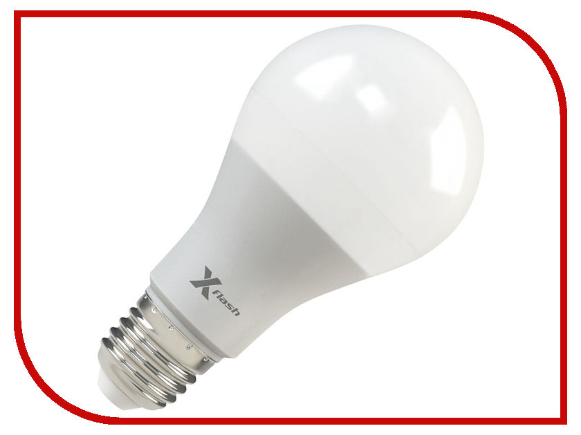 Лампочка X-flash XF-E27-A65-P-12W-3000K-12V 47178