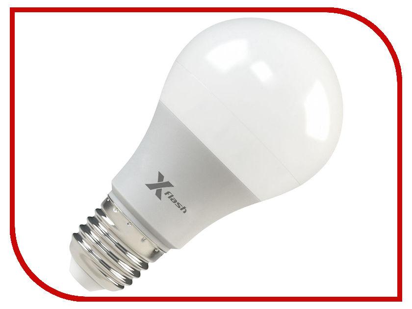 Лампочка X-flash XF-E27-A60-P-8W-4000K-12V 45945 лампочка юпитер dimm e27 8w ac85 265v 660 lm warm white g60 a di14s5