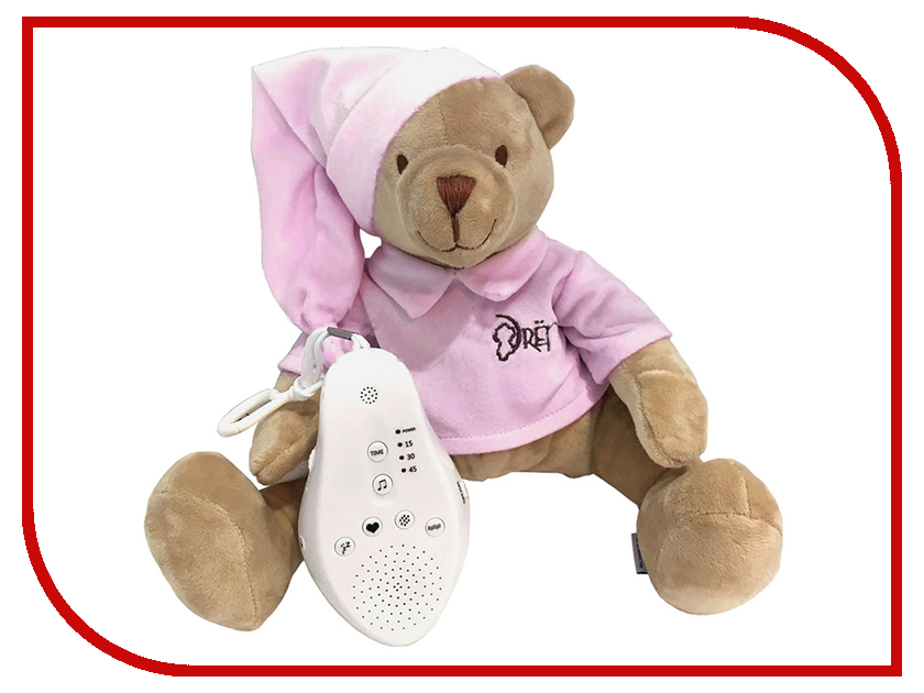 Игрушка Drema BabyDou 103 Медведь Pink
