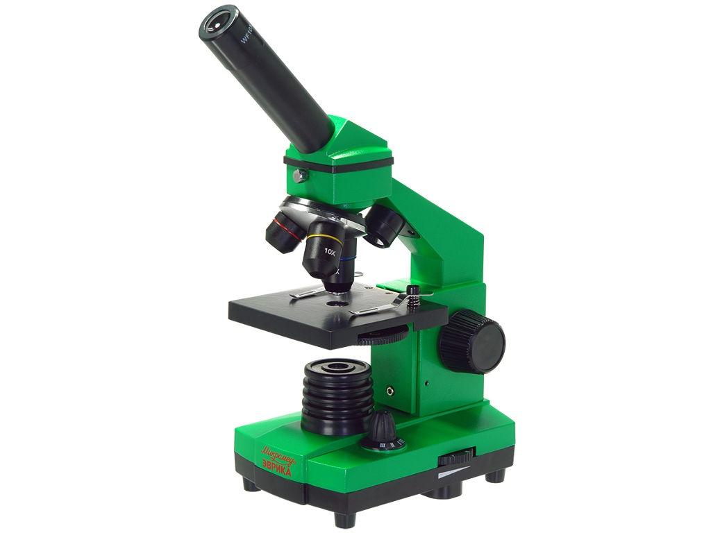 Фото - Микроскоп Микромед Эврика 40x-400x Lime микроскоп микромед полар 2