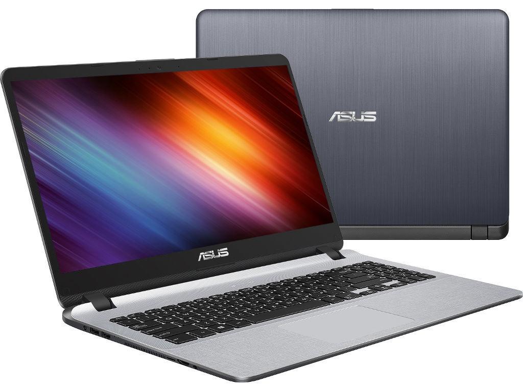 все цены на Ноутбук ASUS X507MA-BR001 Stary Grey 90NB0HL1-M00980 (Intel Celeron N4000 1.1 GHz/4096Mb/500Gb/No ODD/Intel HD Graphics/Wi-Fi/Cam/15.6/1366x768/Endless) онлайн
