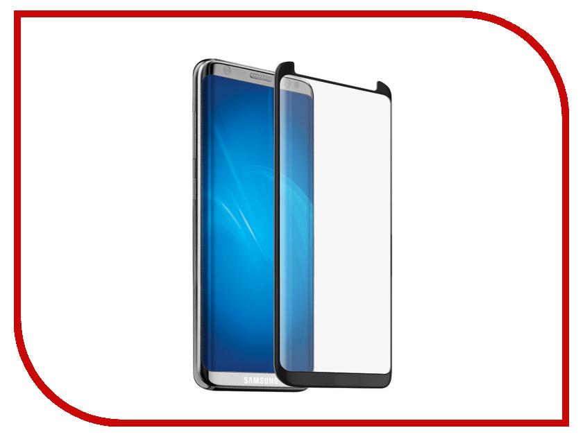 Аксессуар Защитное стекло для Samsung Galaxy S8 Ainy Full Glue Full Screen Cover 5D 0.2mm Black аксессуар защитное стекло для samsung galaxy s8 plus ainy full screen cover 0 2mm 3d blue